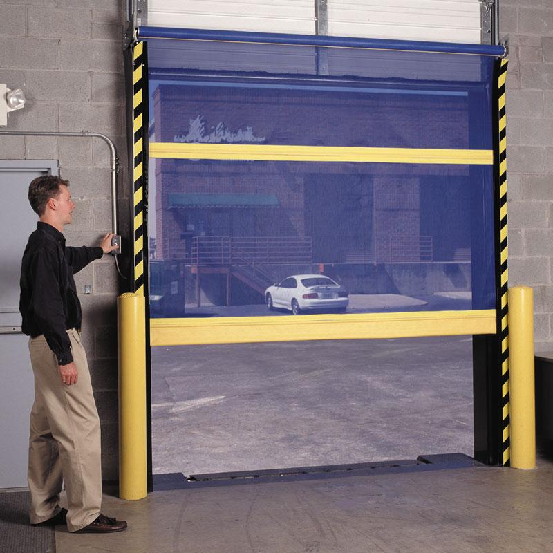 Dock Door Screens Amp Chain Link Security Door